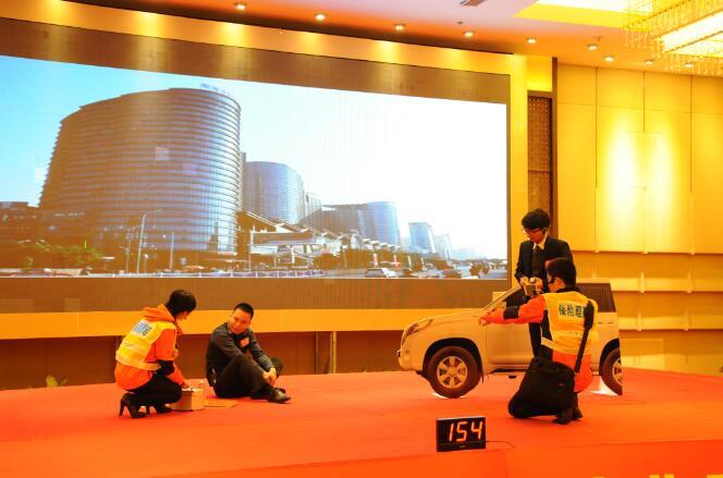 10平安产险广西分公司在作疑似碰瓷人伤事故保险公司处理的情景演示.jpg